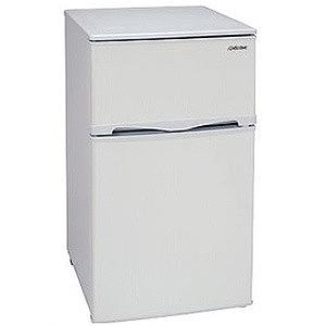 アビテラックス 2ドア冷蔵庫(96L・右開き) AR‐100E‐W (ホワイトストライプ)(標準設置無料)