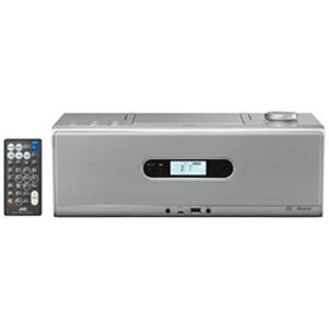 JVC・ビクター CDポータブルシステム 【ワイドFM対応】 RDW1S (シルバー)