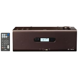 JVC・ビクター CDポータブルシステム 「ワイドFM対応」 RDW1T (ブラウン)(送料無料)