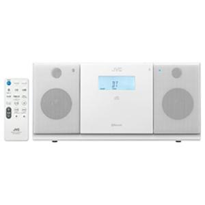 JVC・ビクター CDラジオ(ラジオ+CD) 「ワイドFM対応」 NXPB30W (ホワイト)(送料無料)