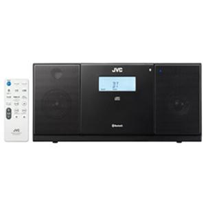 JVC・ビクター CDラジオ(ラジオ+CD) 「ワイドFM対応」 NXPB30B (ブラック)