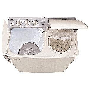 日立 2槽式洗濯機(4.5kg) PS‐H45L‐CP (パインベージュ)(標準設置無料)