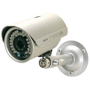 セレン 赤外線投光器内蔵防水型カラーカメラ SEC‐G751