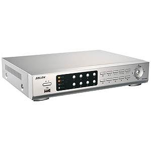 セレン インターネット対応監視システム用ハードディスクレコーダー(1TB×2) DVR‐S320(送料無料)