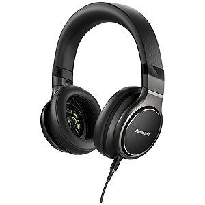 パナソニック ハイレゾ音源対応ステレオヘッドホン RP‐HD10‐K(ブラック)