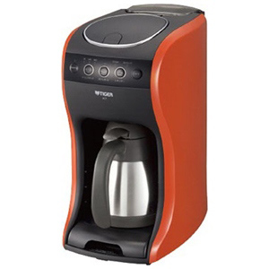 タイガー コーヒーメーカー 「カフェバリエ・真空ステンレスサーバータイプ」 ACT‐B040‐DV(バーミリオン)