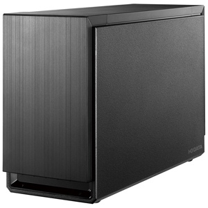 I・O・DATA 外付HDD 8TB 2ドライブ搭載・RAID対応 HDS2-UTXシリーズ HDS2‐UTX8.0(ブラック)