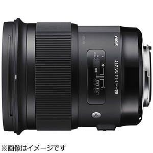 シグマ 50mm F1.4 DG HSM Artライン(キヤノンマウント) 50F1.4DGHSMEO