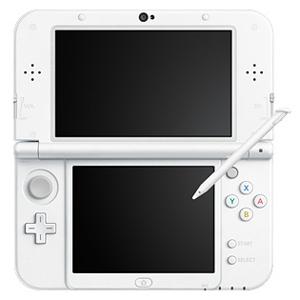 任天堂 New ニンテンドー3DS LL本体 パールホワイト(送料無料)