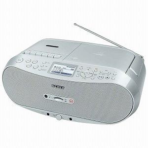 ソニー CDラジオカセット メモリーレコーダー CFD‐RS501