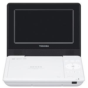 東芝 ポータブルDVDプレーヤー SD‐P710S‐W (ホワイト)(送料無料)