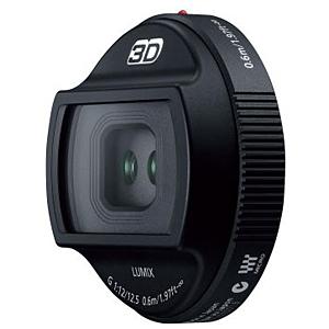 パナソニック 交換用3Dレンズ LUMIX G 12.5mm/F12 H‐FT012