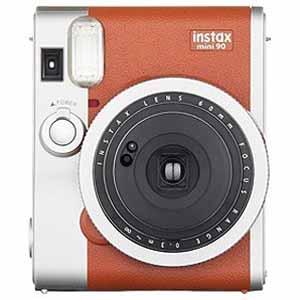 富士フィルム インスタントカメラ instax mini 90 『チェキ』 ネオクラシック ブラウン INSTAXMINI90BROWN(送料無料)
