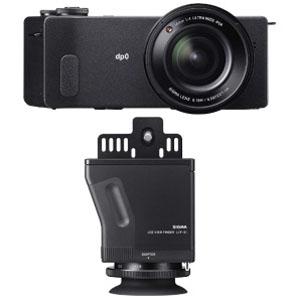 シグマ コンパクトデジタルカメラ SIGMA dp0 Quattro LCDビューファインダーキット DP0QUATTROLCDVFキット(送料無料)