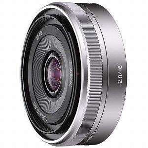 """ソニー デジタル一眼カメラ""""α""""「Eマウント」用レンズ (E16mm F2.8) SEL16F28(送料無料)"""