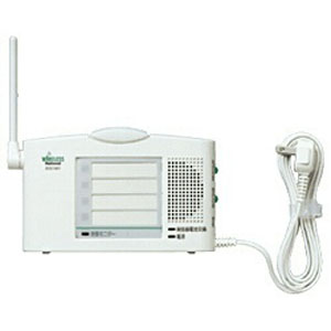 パナソニック Panasonic 小電力型ワイヤレスコール 卓上受信器(受信4表示付) ECE1601P