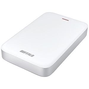 バッファロー 外付けHDD ホワイト [ポータブル型 /1TB] HD-PA1.0TU3-C