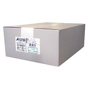 エーワン マルチカード 名刺 3000枚(A4サイズ 10面×300シート・白無地) 51863