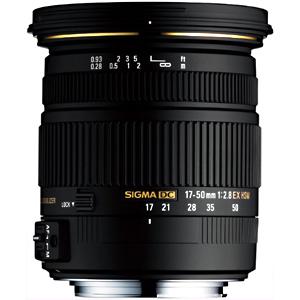シグマ 標準レンズ ソニー用 17-50mm F2.8 EX DC HSM(ソニー用)(送料無料)