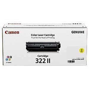 Canon 「純正」トナーカートリッジ 322 II (イエロー) CRG‐322IIYEL