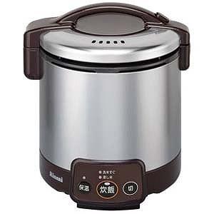 リンナイ 「都市ガス12A・13A用」 ガス炊飯器「こがまる VMシリーズ」(5合) RR‐050VM‐DB (13A (ダークブラウン)