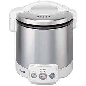 リンナイ 「プロパンガス用」 ガス炊飯器「こがまる VMシリーズ」(5合) RR‐050VM‐W (LP (グレイッシュホワイト)