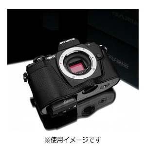 Kカンパニー 本革カメラケース「オリンパス OM-D E-M10用」(ブラック) XS-CHEM10BK