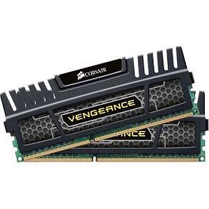 コルセア DDR3-1600 240pin DIMM(4GB 2枚組)デスクトップ用 CMZ8GX3M2A1600C9 (ブラック)(送料無料)
