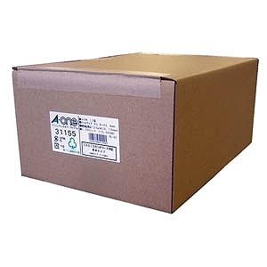 エーワン パソコンプリンタ&ワープロラベル(A4サイズ・12面・1000枚) 31155