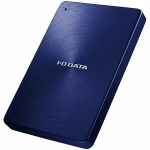 I-O DATA ポータブルHDD「USB3.0・2TB」「カクうす」(ブルー) HDPX-UTA2.0B