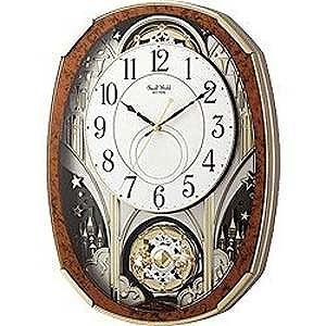 リズム時計工業 電波からくり時計「スモールワールドノエルM」 4MN513RH23