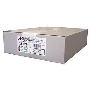 エーワン パソコンプリンタ&ワープロラベルシール(A4サイズ・18面・500枚) 28728
