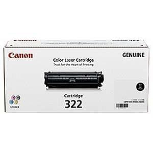 Canon 「純正」トナーカートリッジ 322 (ブラック) CRG‐322BLK