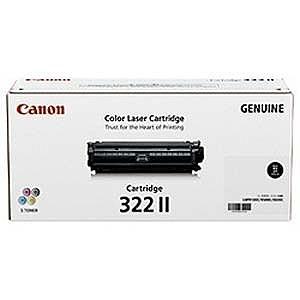 Canon 「純正」トナーカートリッジ 322 II (ブラック) CRG‐322IIBLK