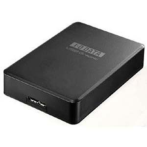 I・O・DATA USB 3.0/2.0接続 外付グラフィックアダプター HDMI端子対応モデル USB‐RGB3/H