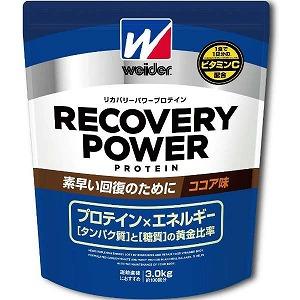 森永製菓 ウイダー リカバリーパワープロテイン「ココア風味/3.0kg」28MM12301 28MM12301(ココア(送料無料)