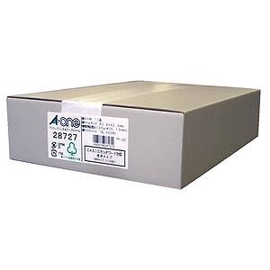 エーワン パソコンプリンタ&ワープロラベルシール(A4サイズ・12面・500枚) 28727