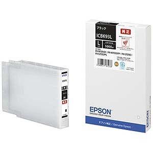 エプソン EPSON 「純正」ブラックインクカートリッジL ICBK93L