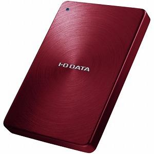 I-O DATA ポータブルHDD「USB3.0・2TB」「カクうす」(レッド) HDPX-UTA2.0R