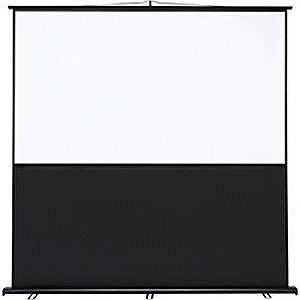 サンワサプライ プロジェクタースクリーン(床置き式) PRSY90HD