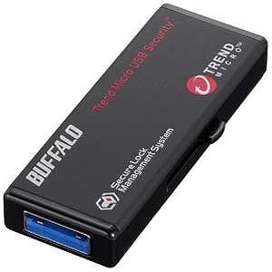 バッファロー USB3.0メモリ ウイルスチェックモデル(8GB・ブラック) RUF3‐HS8GTV
