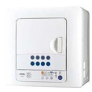 東芝 衣類乾燥機(乾燥容量6.0kg) ED-60C-W(ピュアホワイト)(標準設置無料)