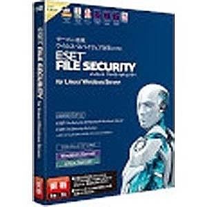 キヤノンITS ESET File Security for Linux/Windows Server(更新) ESET FILE SECURITY F
