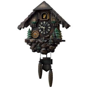 リズム時計工業 掛け時計「カッコーヴァルト」 4MJ422SR06