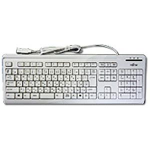 富士通 有線キーボード「USB 1.85m・Win」OADG (109キー・マーブルグレー) FMV‐KB336