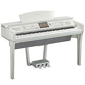 YAMAHA 電子ピアノ Clavinova CVPシリーズ(88鍵盤) CVP‐709PWH (白鏡面艶出し仕上げ)(標準設置無料)