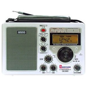 ANDO ファイブバンドラジオ ER4-330SP 「ワイドFM対応」 ER4330SP5バンドラジオ(送料無料)