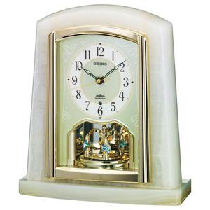 セイコー 電波置き時計「ツイン・パ」 BY223M