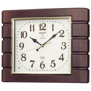 最高級 セイコー RX209B 電波掛け時計「チャイム&ストライク」 セイコー RX209B, 健康ストア 健友館:4f4d8339 --- desata.paulsotomayor.net