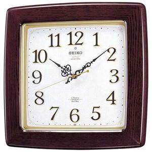 セイコー 電波掛け時計「チャイム&ストライク」 RX211B